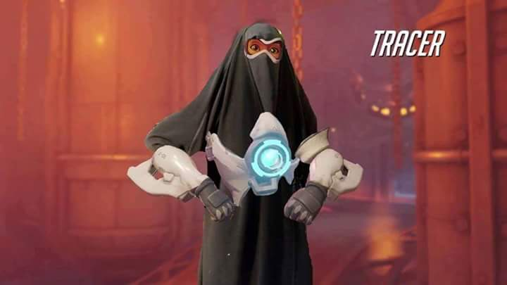 Blizzard's solution to people who say that Tracer is too sexualised