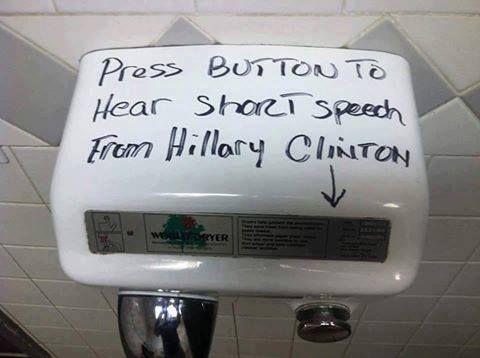 Press button to hear lies!