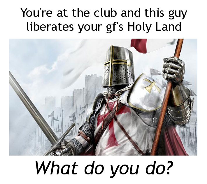 I will take my big sword out