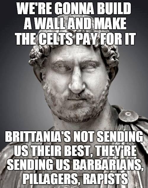 Make the Roman Empire great again