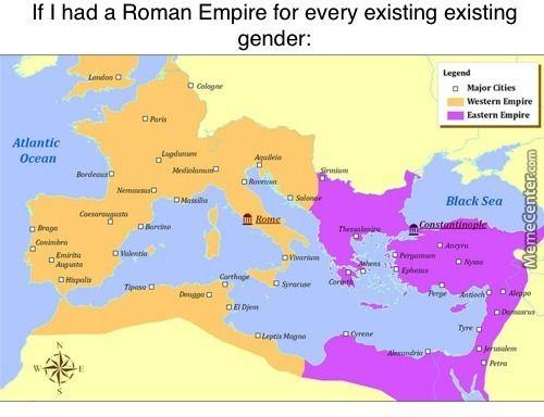 Romans invented edge