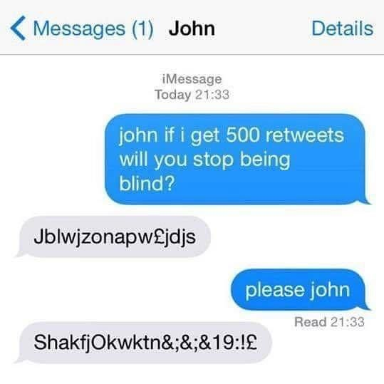 John please