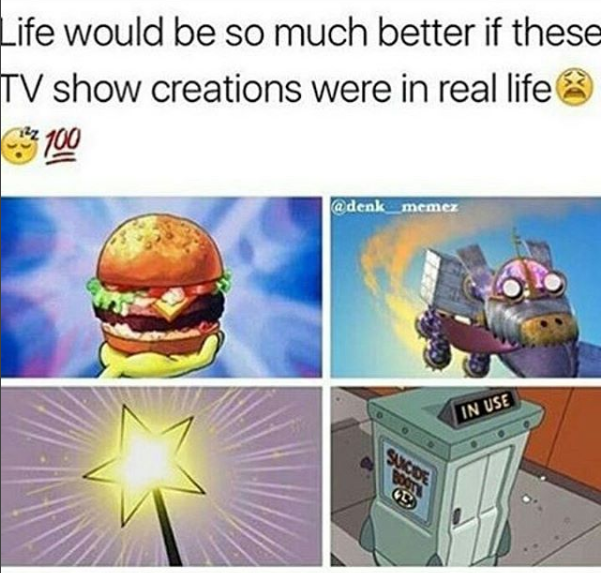 tv shows and real life