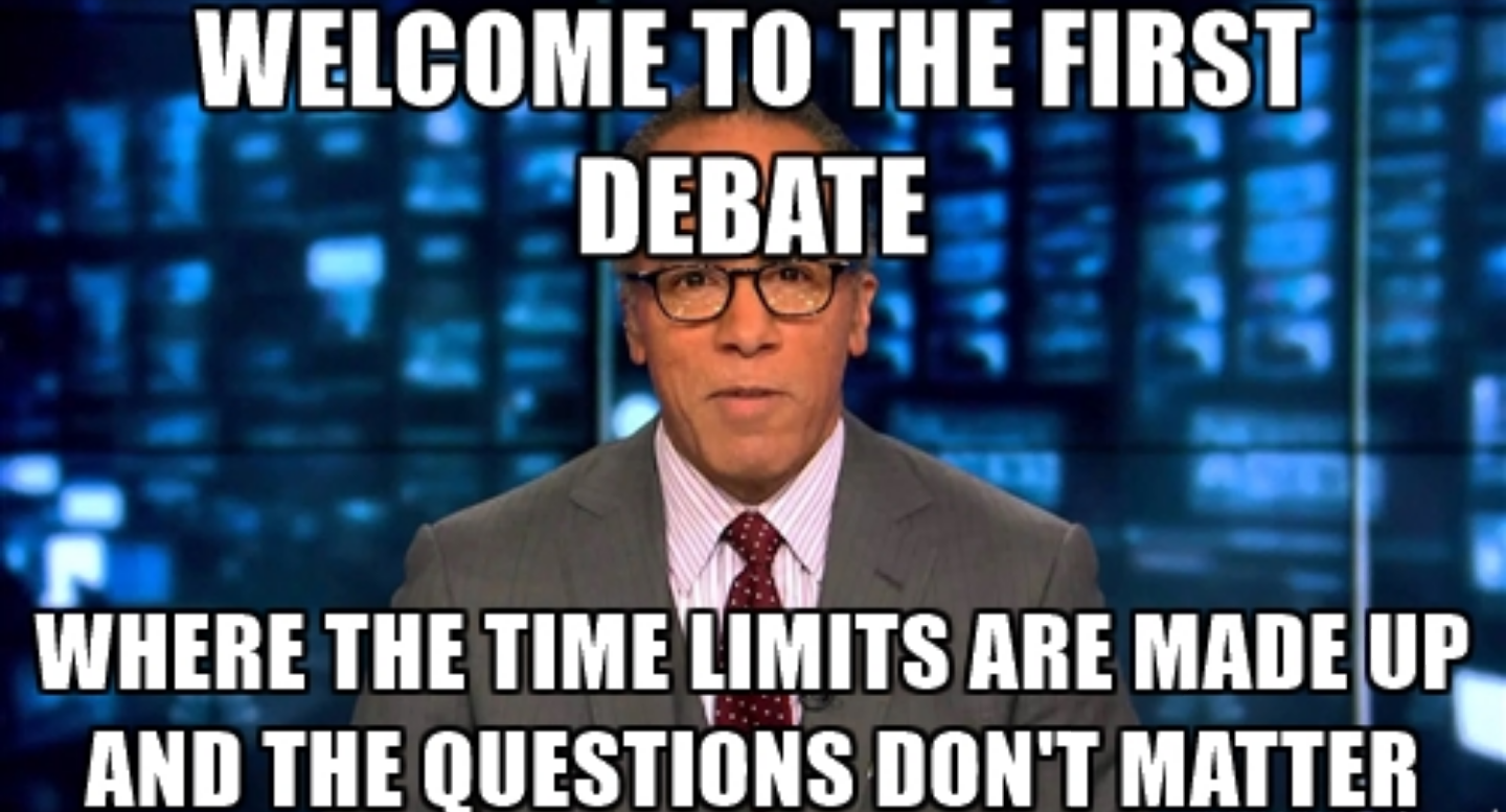 I'm Lester Holt, it's time to play!