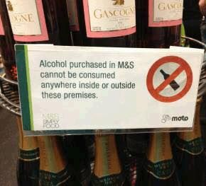 Where on Earth can I drink it then?!