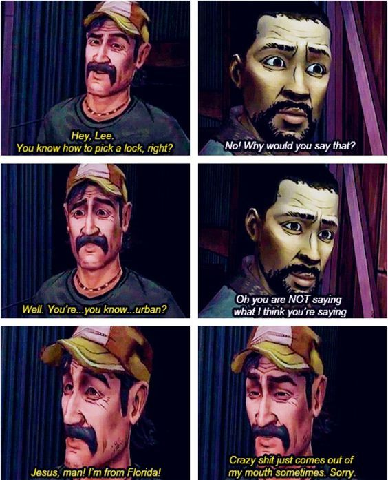 One of my favourite parts in The Walking Dead Season 1