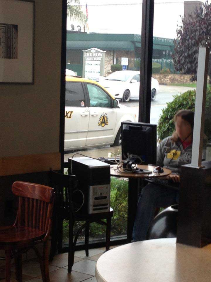 Meanwhile at Starbucks...