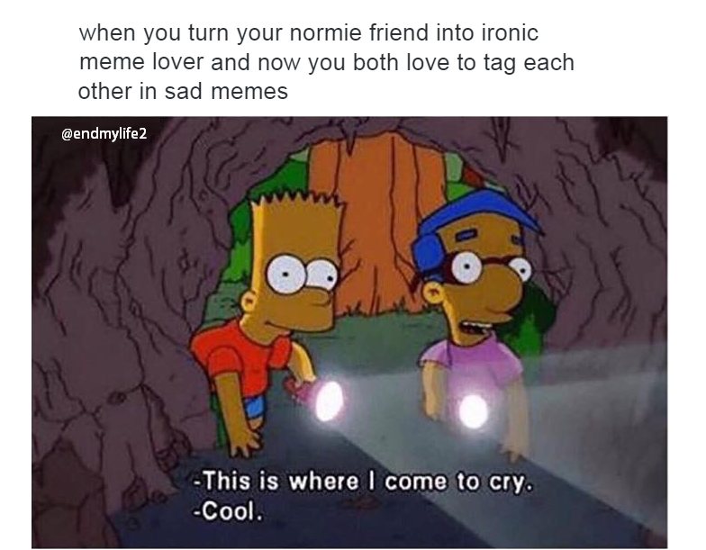 414539 sad meme a day helps the anxiety to stay,Anxiety Meme