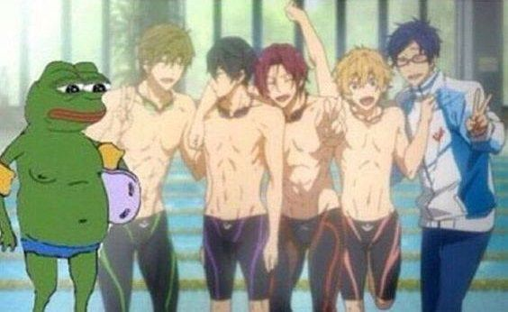 when your friends look fine af with their bathing suits and then there's you