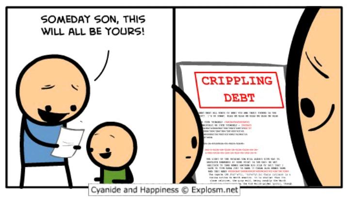 oh boy even more crippling Deps