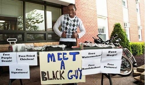 meet a black guy