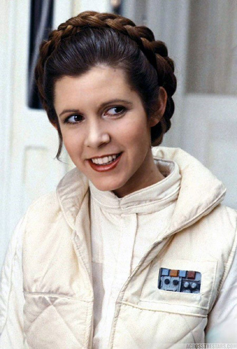 Carrie Fisher died today, may she rest in peace.