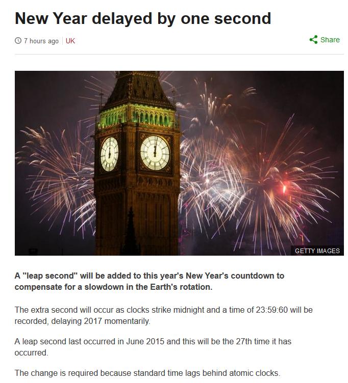 As if 2016 wasn't long enough already.