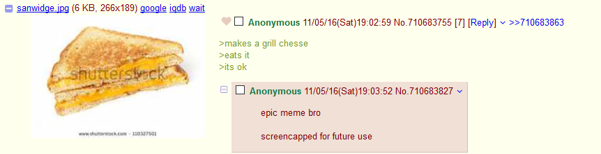 Anon produces high quality OC