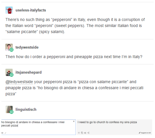All other pizza is sh*t! Sincerely Italy