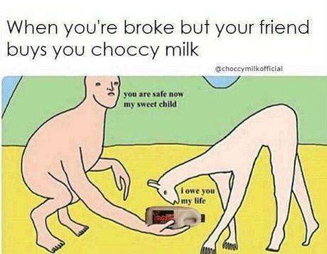 Choccy milf