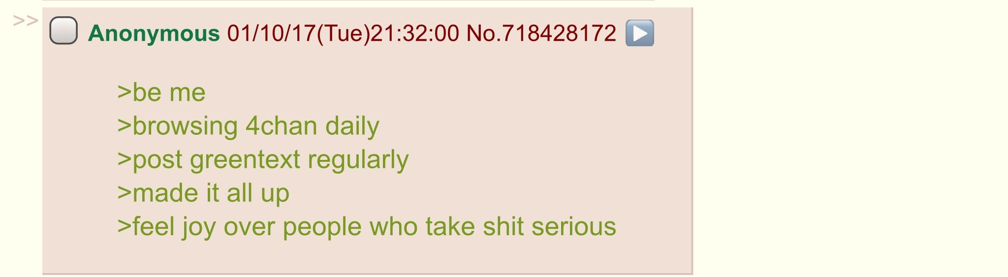 Anon has a confession