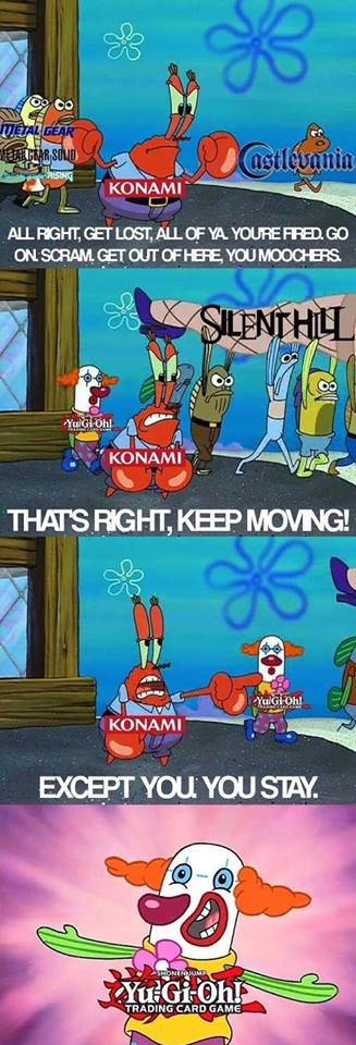 Welcome to *** Konami News: Konami sucks
