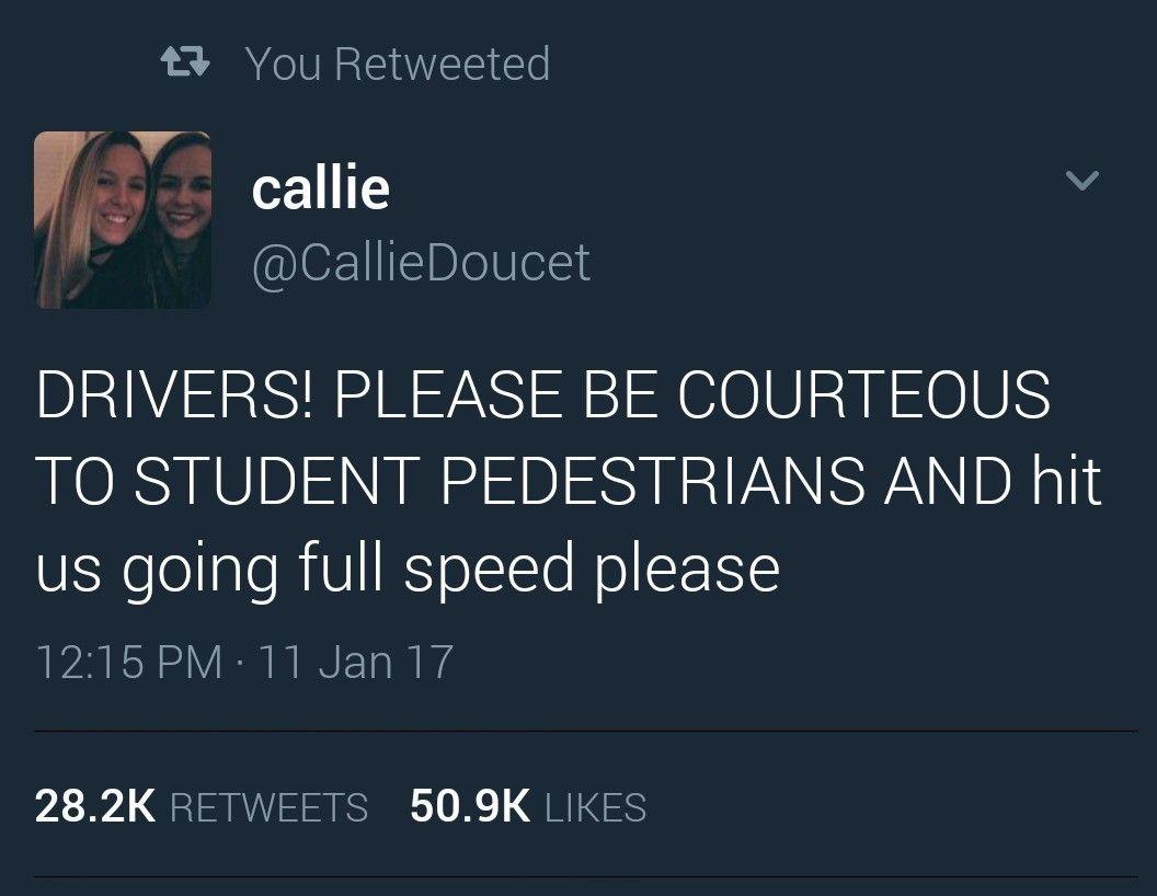 Drivers shoud be more carefull