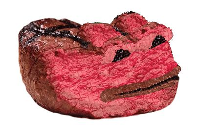 TFW you like your steak rare