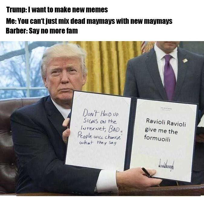 cant stump the trump memes