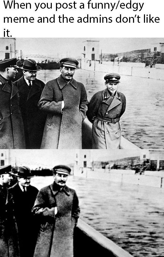 To the gulag you go.