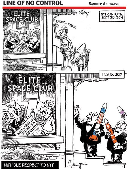 In 2013 NYT made fun of India's mission to Mars . Today was Times of India's response.