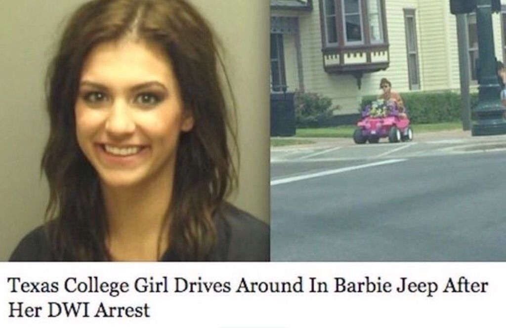 This girl is really going places