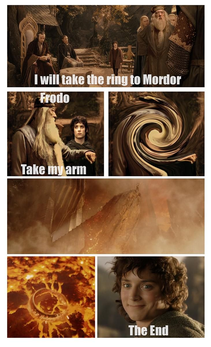 If Dumbledore was in The Lord of the Rings