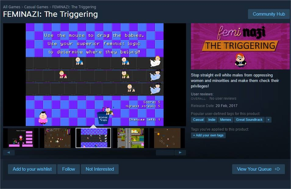 Can't find a better title than the game itself