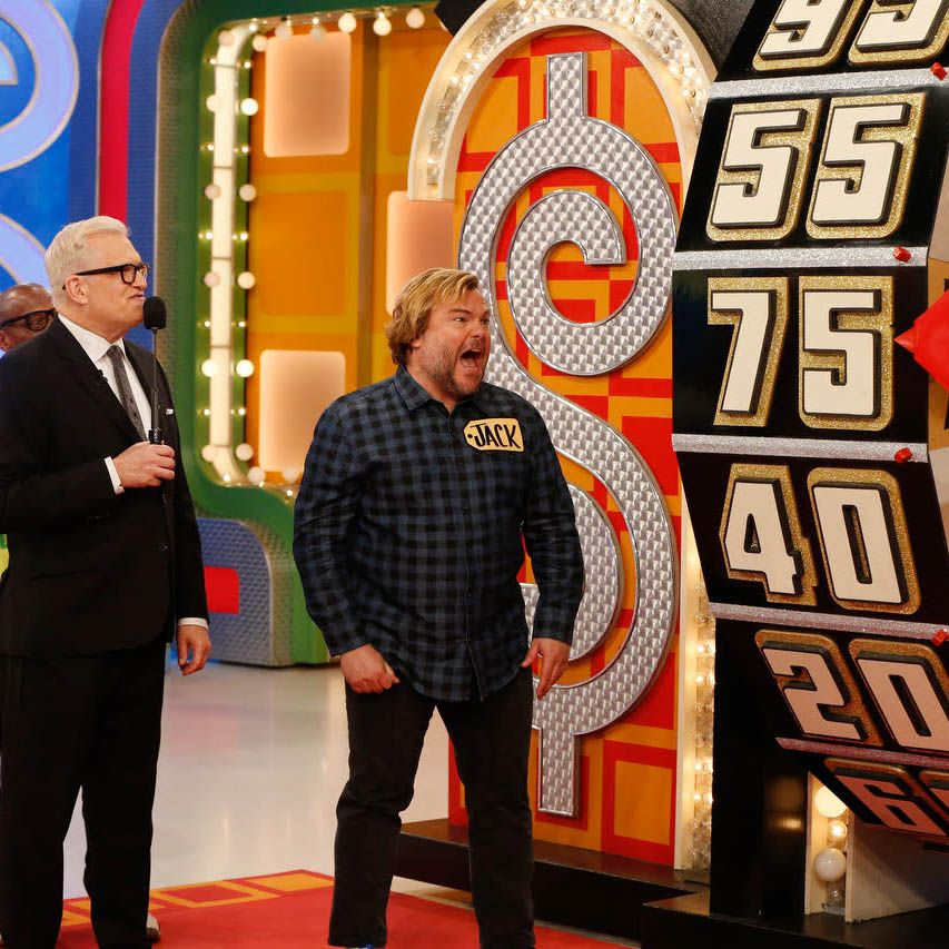 Jack Black on the Price Is Right