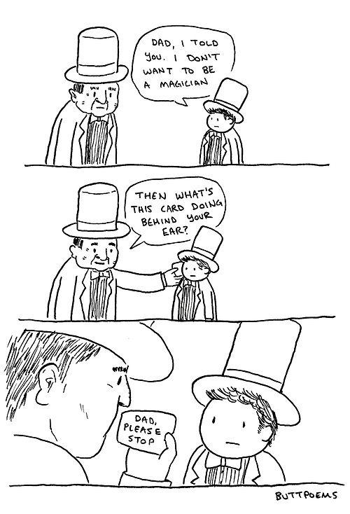 Raising a magician