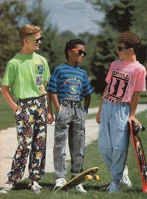 If you were a kid lucky enough to be this age in the 90's then you were lucky enough to look this rad...