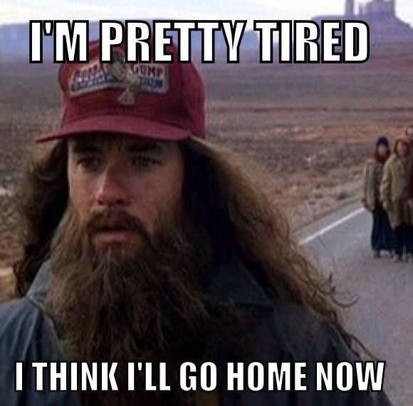 Anytime I leave the house.