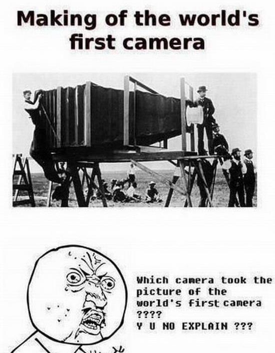 making of the world's first camera
