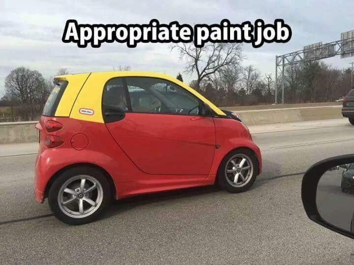 Appropriate Paint Job