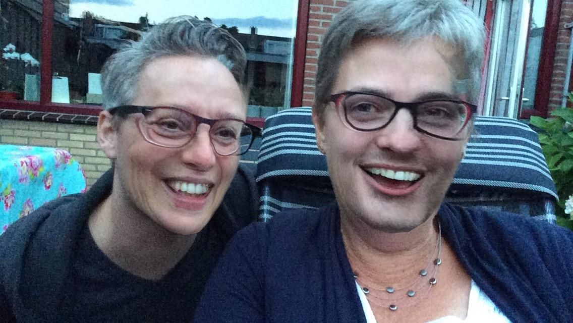 As it turns out, face swapping my husband and mother turns them into an old lesbian couple.