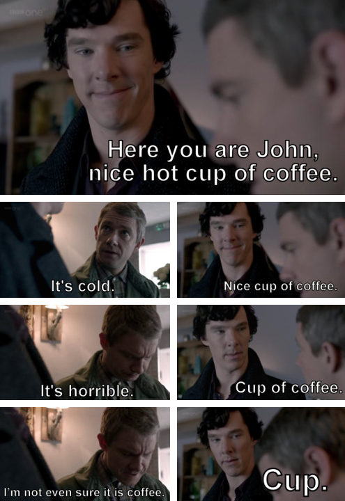 Sherlock is such a great show.