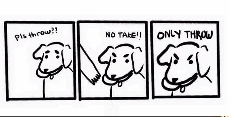 No take!