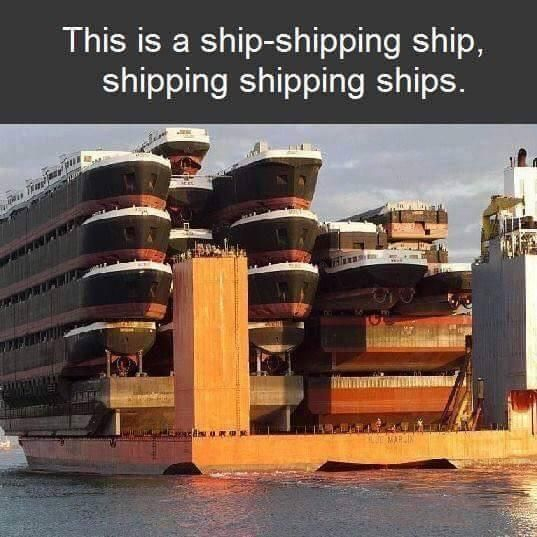Who ships your shipping ships?