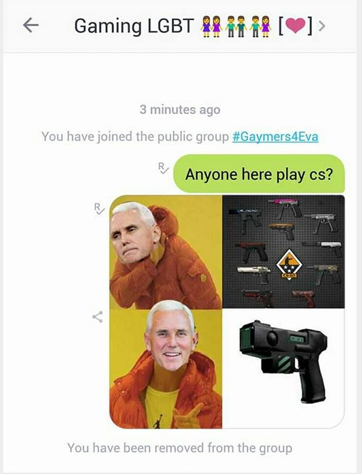 Pence has been planted