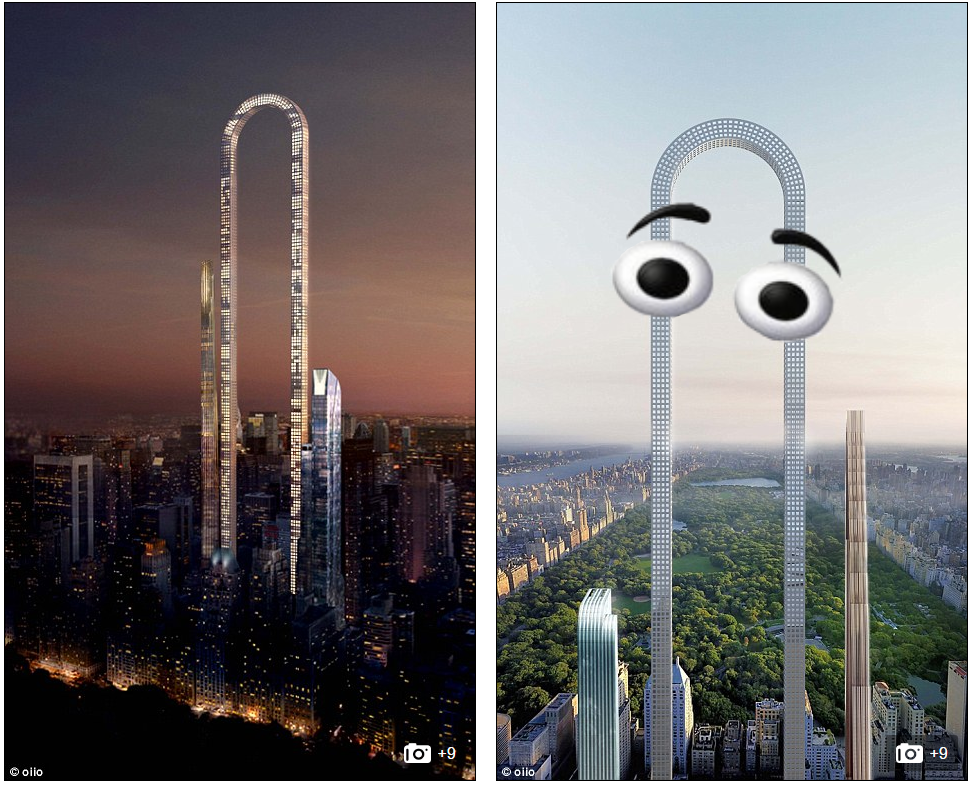 World's Largest Building Planned for NYC, I may have made one tiny change to the 2nd pic
