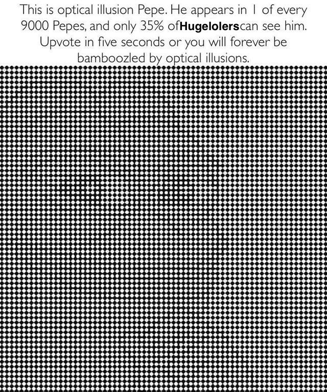 Specal illusion Pepe