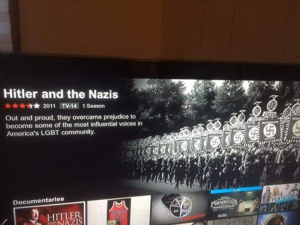Go home Netflix, you're drunk!