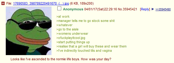Anon is a stud
