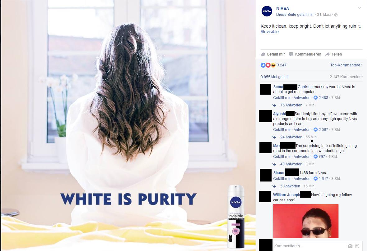 Nivea's marketing is on point.