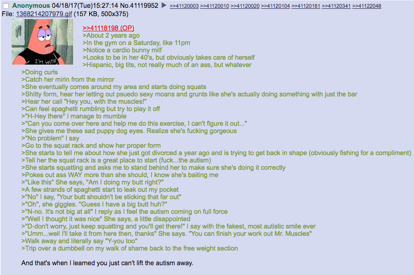 /fit/ can't lift away the extra chromosomes