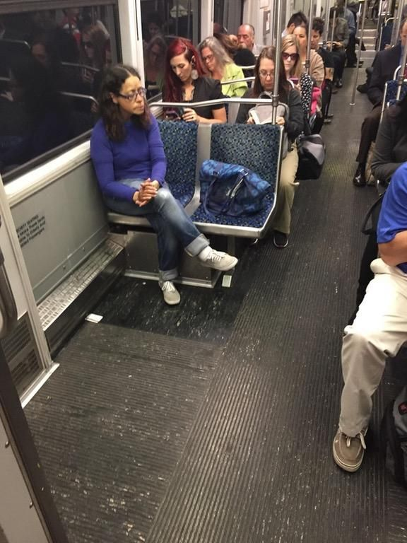 "To be blunt, this is FAR larger of a problem than ""Manspreading"""