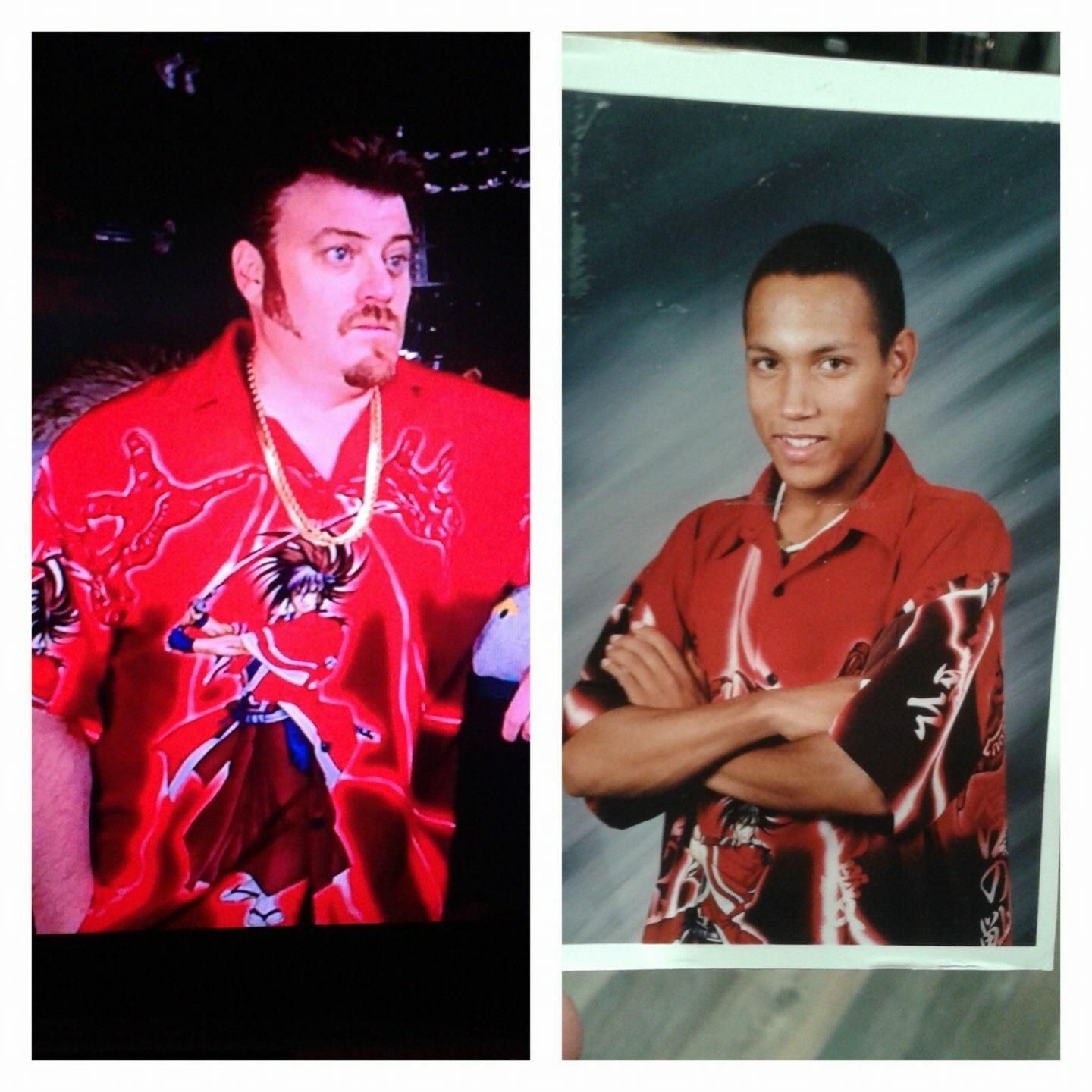 Apparently me circa 2001 had the same fashion sense as Ricky from Trailer Park Boys.