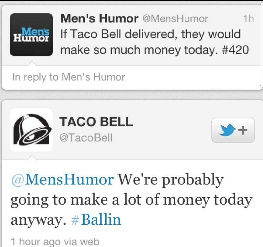Taco Bell knows what's up